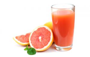 Сок свежевыжатый грейпфрут