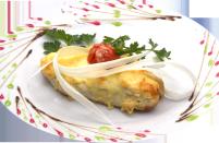 Филе грудки в сыре