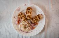Хан-кебаб из телячий печени