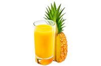 Сок свежевыжатый ананас